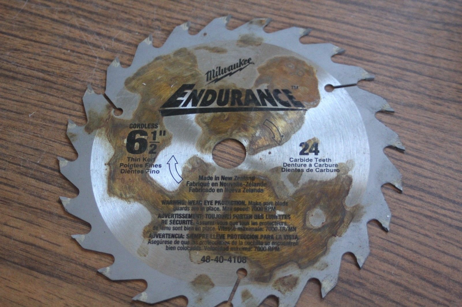 Milwaukee Endurance 24 Tooth Circular Saw and 26 similar items