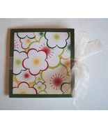 Handmade Gift Card Holder With Envelope New Flo... - $2.00