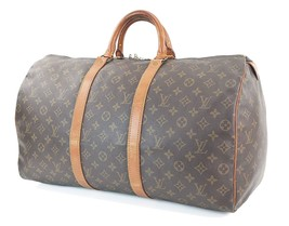 Authentic LOUIS VUITTON Keepall 50 Monogram Canvas Duffel Bag #30773 - $395.00