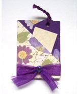 Gift Card Holder With Envelope Handmade New Floral - $2.00