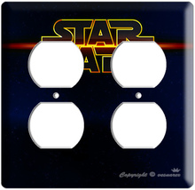 NEW STAR WARS LOGO EMBLEM SIGN OUTLET COVER WALL PLATE - $9.99