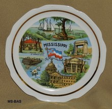Mississippi the Magnolia State 7 inch Souvenir Plate - $12.99