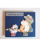 Gift Card Holder With Envelope Handmade New Cel... - $2.00