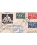 FRANKLIN DELANO ROOSEVELT In Memoriam Philippine  First Air Mail Stamps  - $2.95