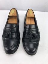 Bostonian Leather Men's US 9 M Shoes First Flex Black Tassels Loafers - $29.00