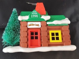 Lincoln Logs New Home 1998 New Home Carlton Cards Christmas Ornament  - $11.23