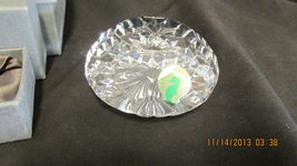 Waterford Round Paperweight ~ New Older stock in Box ~ MINT - $45.00