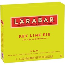 Larabar Gluten Free Bar, Key Lime Pie, 1.6 oz Bars (5 Count) - $13.68