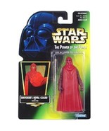 Star Wars POTF Emperor's Royal Guard action figure (green holo card) - $7.99