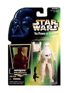 Star Wars POTF Snowtrooper action figure (green holo card) - $7.99