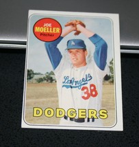 1969 Topps Baseball Card #444 Joe Moeller - $0.98