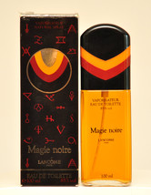 Lancome Magie Noire Eau de Toilette Edt 100ml Spray 3.3 Fl. Oz. Vintage Old 1978 - $550.00