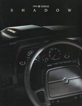 1994 Dodge SHADOW sales brochure catalog US 94 ES - $7.00
