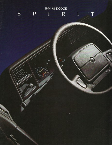1994 Dodge SPIRIT sales brochure catalog US 94