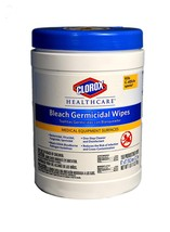 Clorox 30577 Healthcare Bleach Germicidal Wipe 150 Count - $15.93