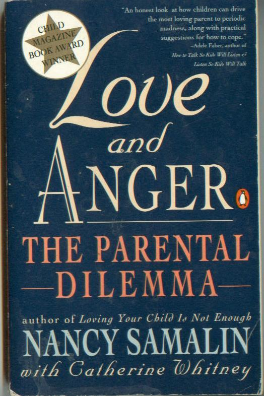 parenting book lot LOVE & ANGER / HURRIED CHILD / SURVIVAL GUIDE FOR KIDS W/ LD