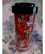 Nescafe Coffee Travel Cup Mug Souvenir Collector Collectible - $7.99