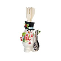 Fitz and Floyd 49-649 Flurry Folk Holder with Utensils and Measuring Spo... - £23.55 GBP