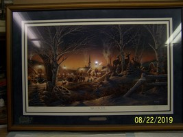 """Terry Redlin signed and numbered print """"Night on the Town"""" - $400.00"""