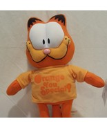 "Garfield Orange You Special Plush Stuffed Animal 14""  Toy Factory - $32.23"