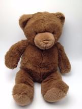 Brown Teddy Bear Lord & Taylor Gund 19 inch 2001 Plush Stuffed - $22.87