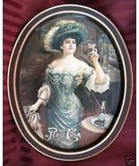 Vintage PEPSI COLA Tray Souvenir Collector Saloon Woman Tavern Pub Colle... - $14.99