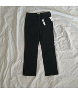 William Rast Junior's High-rise Slim Straight Vintage Stretch Black Jean... - $32.73