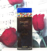 Nocturnes De Caron EDT Spray 3.3 FL. OZ. NWB. Black Box. - $299.99