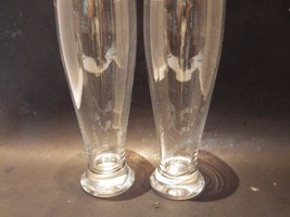 (2) Crate & Barrel Pilsner Beer Glasses 24 Ounce - $27.72