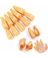 HMQ® 10pcs/set Plastic Gel Nail Polish Remover Soak Off Cap Clip UV Gel ... - $3.98