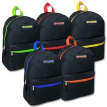 """Trailmaker 17"""" Backpacks Black - 24 Pack  - $301.31 CAD"""