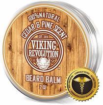 Beard Balm Cedar & Pine Scent w/Argan & Jojoba Oils - Styles, Strengthens & Soft image 9