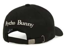 Psycho Bunny Men's Cotton Heritage Strapback Sports Baseball Cap Hat image 3
