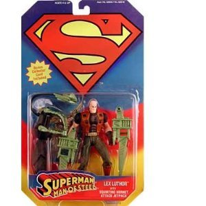 Superman, the Man of Steel Lex Luthor w/Squirting Hornet Attack Jetpack Generic