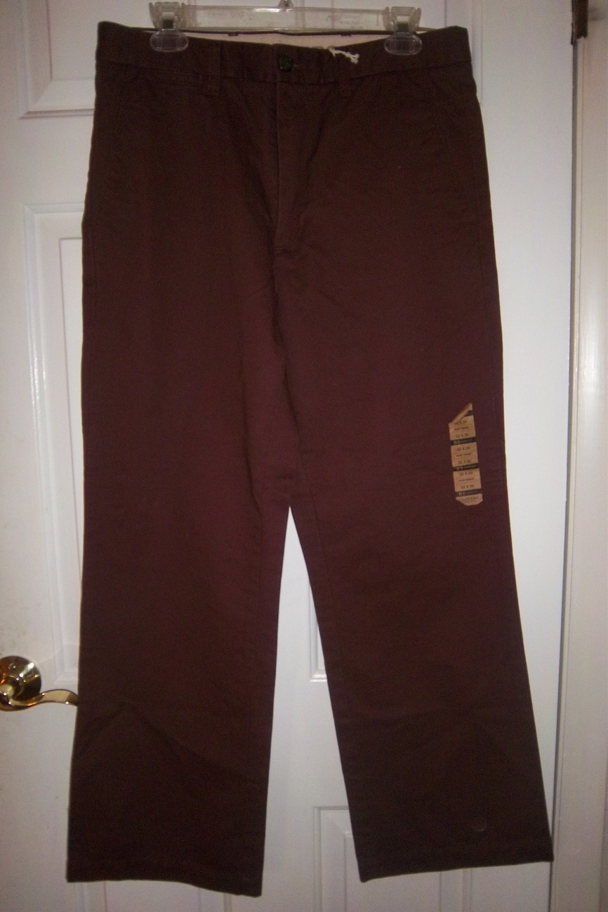 Classic Soft Khaki Brown Women's Dockers Slacks/Pants New w/Tag 32X30 Flat Front