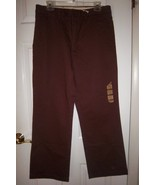 DOCKERS Slacks/Pants, Brown D-3 Classic, New w/Tag 32X30 Flat Front - $10.00