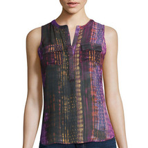 a.n.a 2-Pocket Henley Popover Tank Top Size PS, PM, PL, PXL New Sierra P... - $12.99