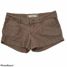Abercrombie & Fitch Womens Juniors Shorts Brown Size 2 - $12.87