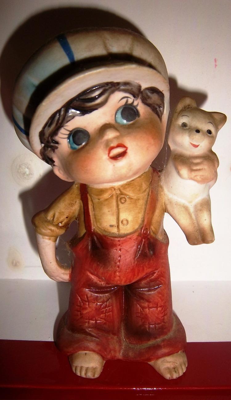 Ceramic boy