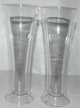 Luigi Bormioli DW0302 Duos Pilsner Glasses Set of 2 Thermo Wall Color Clear image 2