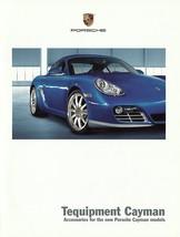 2009/2010 Porsche CAYMAN Tequipment parts accessories brochure catalog U... - $6.00
