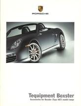 2006 Porsche BOXSTER Tequipment parts accessories brochure catalog US 06 - $6.00