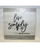 LIVE SIMPLY Wall Hanging Special Moments New  - $9.89