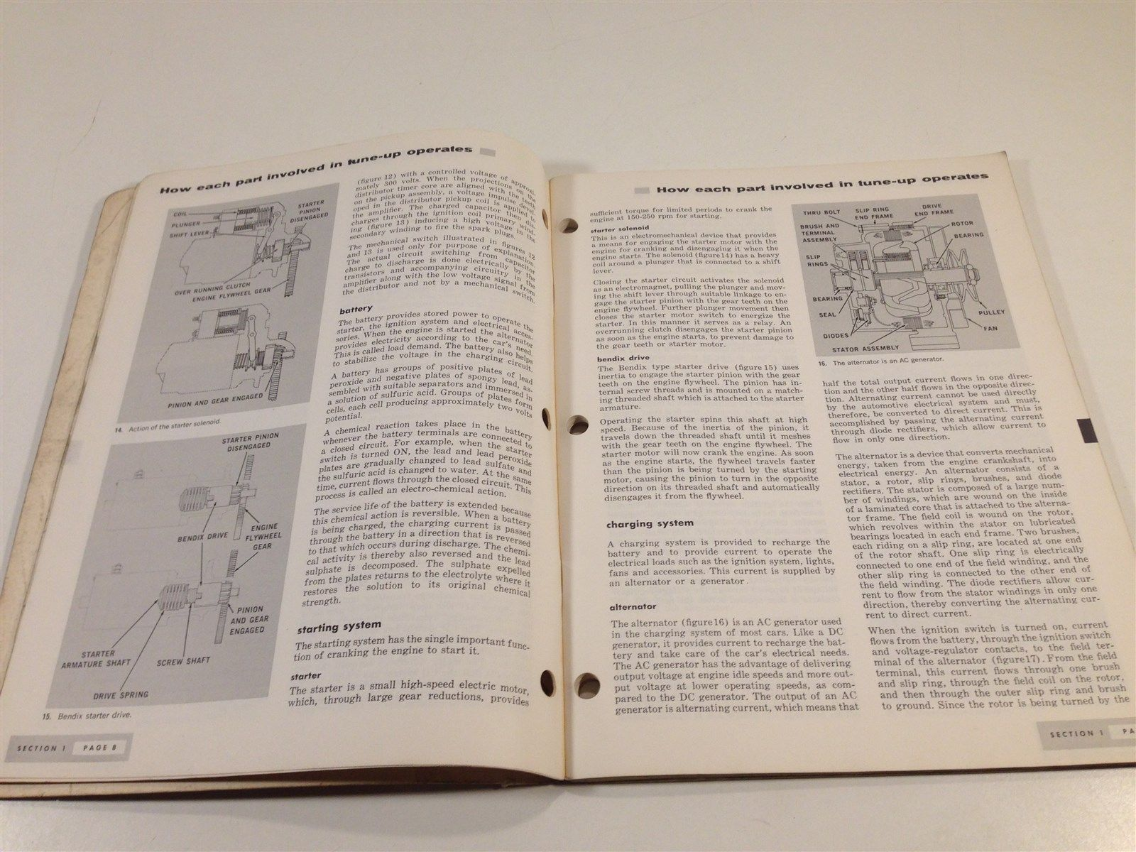 1969 Atlas Supply Company Basic Tune-Up Training Illustrated