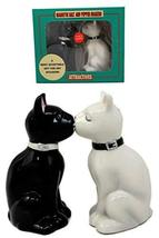 Atlantic Collectibles Feline Black And White Cats Salt & Pepper Shakers ... - $13.85