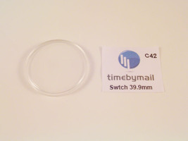 For SWATCH Watch Replacement Plexi-Glass Crystal 39.9mm No Date Spare Pa... - $10.30