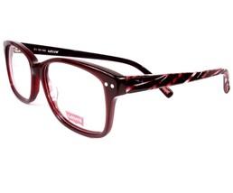 Levis Eyeglasses 652 Burgundy Black 2 Women 51-16-140 new Frames Plastic - $79.19