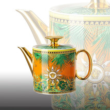 Versace by Rosenthal Teapot 0,90 l / 30.4 Oz Jungle Animalier NEW - $623.70