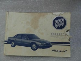 BUICK REGAL     1995 Owners Manual 14745 - $13.85