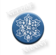 Snowflake Needle Nanny cross stitch JBW Designs   - $12.00